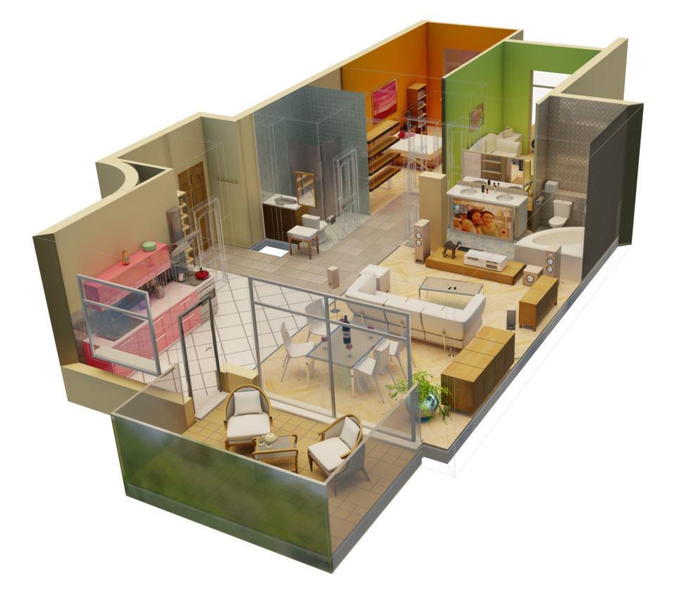 дизайн проект дома бесплатно
