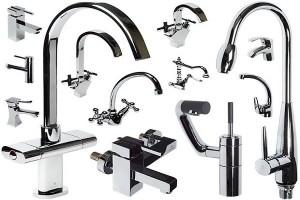 фото смесителей типы для ванной кухни