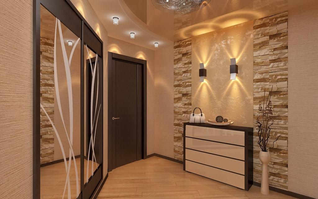 Интерьер коридора в квартире фото