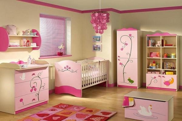 Ремонт детской комнаты для девочки от 4 до 10 лет