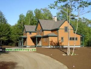 Каркасный дом строительство технология история