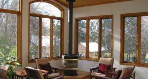Деревянные окна преимущества и дизайн