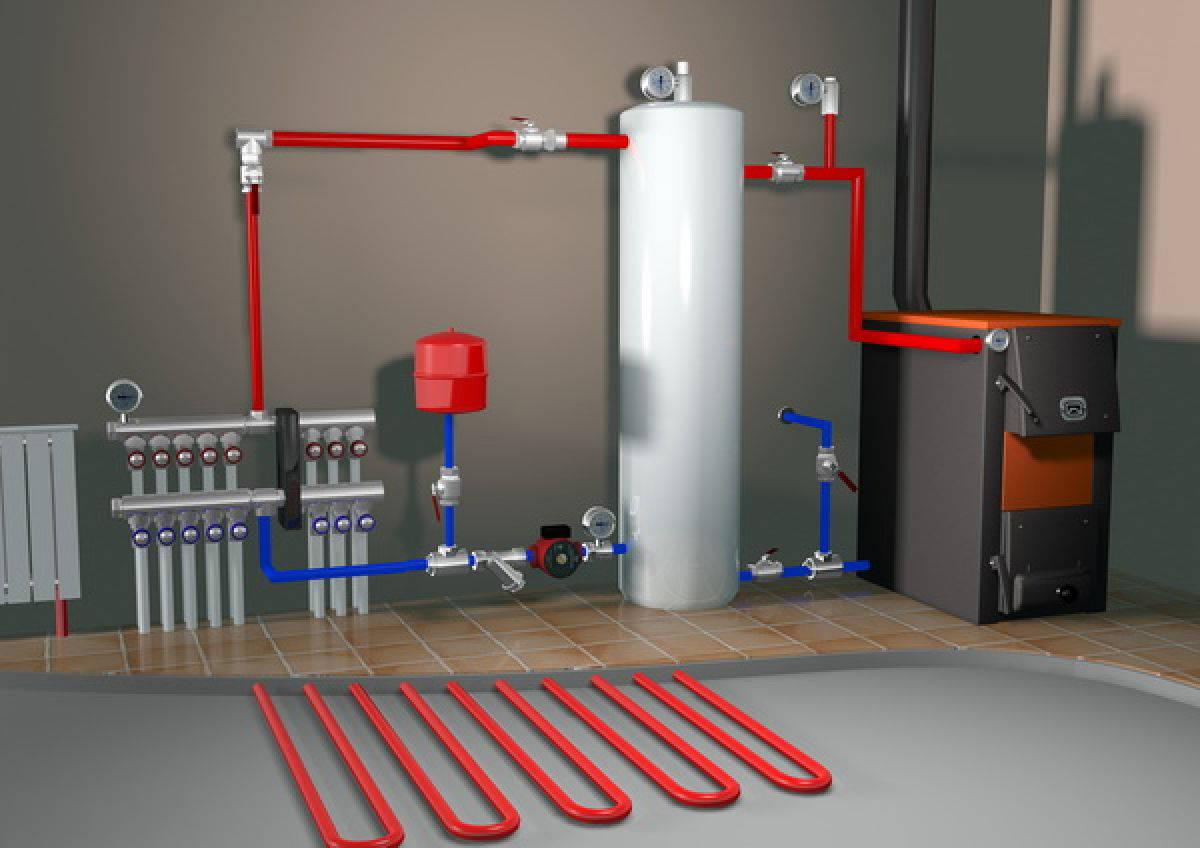 Паровое отопление в частном доме этапы установки